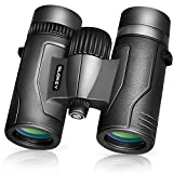 8x32 Compact Binoculars for Adults – Best Bird Watching Binoculars 2020 – Lightweight and Sharp Optics for...