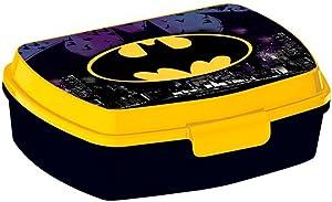 character Batman Lunch Box Rectangular Small Sandwich