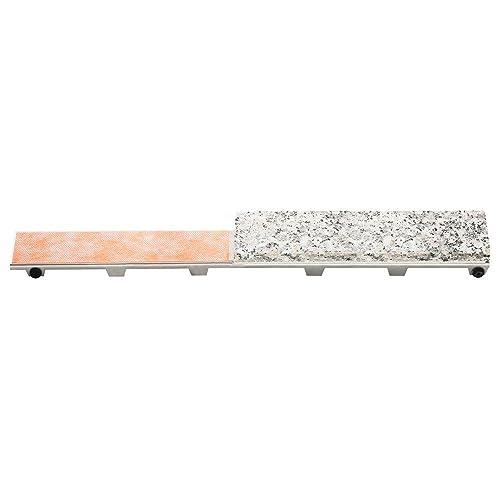 "Schluter Linear Floor Drains - Kerdi-line Frameless/tileable Design Grate - 44"" (Shallow)"