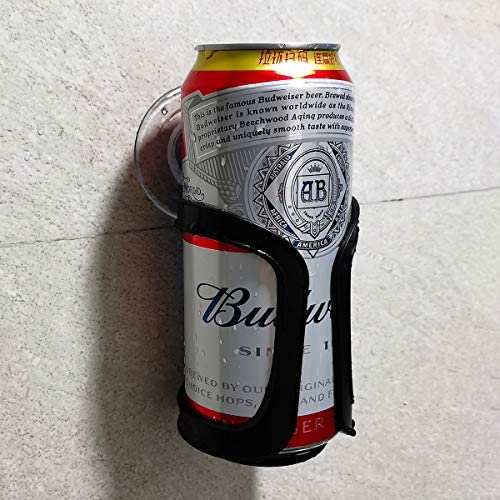 Seatery Beer Can Bottle Holder Shower Drink Holder Bathroom Cup Holder for All Canned Bottle product image