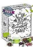 Tee Adventskalender in BIO-Qualität über 260g feinste Teesorten für die Adventszeit I...