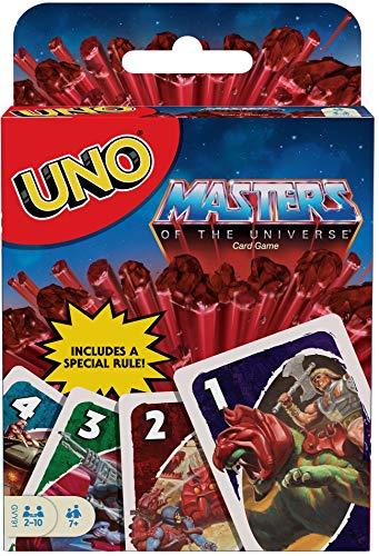 UNO Masters of The Universe, Juego de Mesa Familiar de 2 a 10...