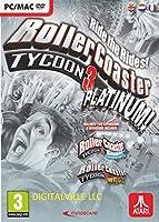 RollerCoaster Tycoon 3 Platinum (PC/MAC DVD) (輸入版)