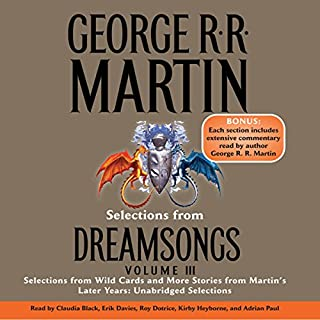 Dreamsongs, Volume III (Unabridged Selections) cover art