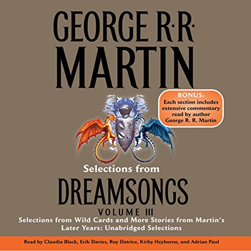 Dreamsongs, Volume III (Unabridged Selections) audiobook cover art