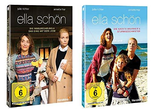 Ella Schön 4 Filme Set u.a. Die Inselbegabung, Sturmgeschwister [DVD Set]