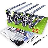 """WORKDONE Paquete 4 uds Portaunidades Caddy 2.5"""" para DELL PowerEdge - T440 T640 R330 R430 T430 R630 T630 R730 R830 R930 R320 R420 R310 R410 G176J - Bandeja Cambio en Caliente - Fácil Instalación"""