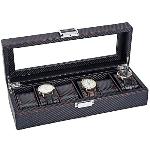 XZJJZ Joyero - Joyería Caja de Almacenamiento Simple colección de Reloj Joyero mecánica domiciliaria Caja de Reloj