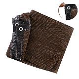FEZBD Sunblock Shade Cloth Net Black Resistente a los Rayos UV, Lona de Malla Garden Shade para Cobertura Vegetal, Invernadero, Granero o Perrera, Panel de Calidad de Tela Top Shade,2m*5m