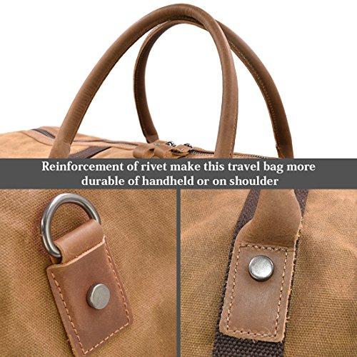 NEWHEY Vintage Reisetasche - 6