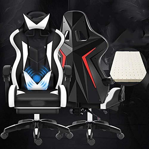 Computerstuhl Home Office stuhl anheben swivel stuhl lieferung student spiel wettbewerbssitz e-sport stuhl, f MISU (Color : D)