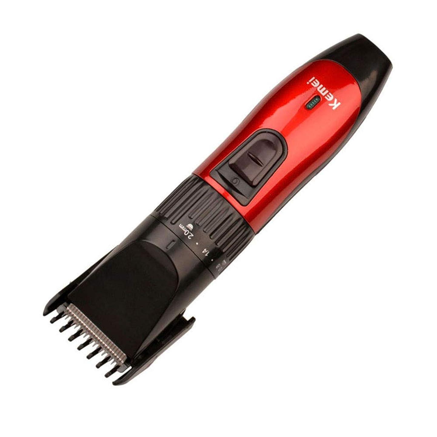 男または流用するバリカンプロフェッショナル充電式ヘアカット機電気シェーバー髭トリマー理髪散髪用男性220-240ボルト