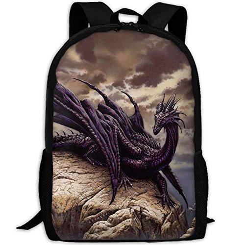 NA Cool Dragon Einzigartige Outdoor Schultertasche Stoff Rucksack Mehrzweck-Tagesrucksäcke