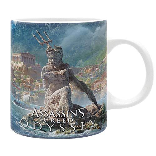 Assassins Creed Odyssey - keramische mok - Griekenland - Alexios - geschenkdoos