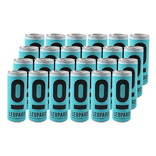 LEoPARD natural power drink 250ml, 24er Pack (24 x 250ml)