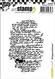 Carabelle Studio Background Writing Cling Sello, Caucho, 10.0x8.0x0.5 cm