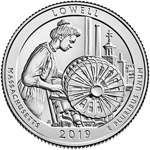 2019 P Bankroll of 40 – Lowell National Historical Park, MA Quarter Uncirculated
