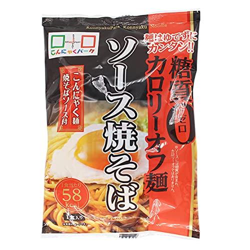 ヨコオデイリーフーズ ソース焼きそば こんにゃく麺 蒟蒻 140g 36食入 1箱