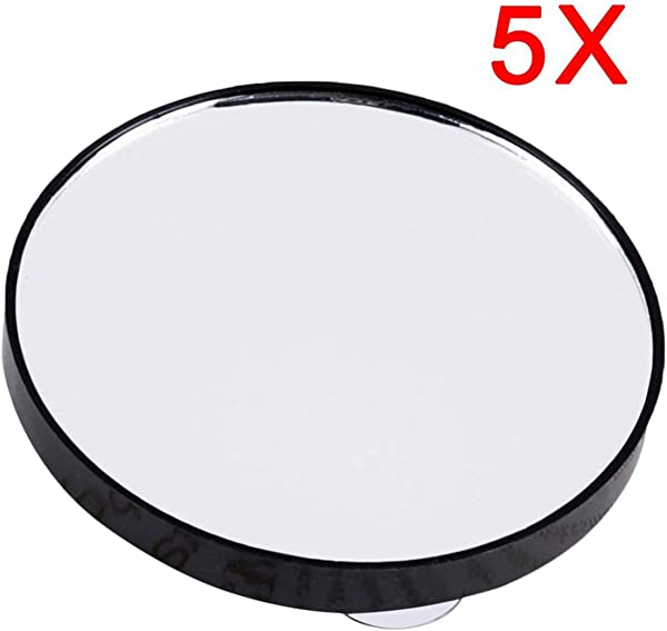 Anyilon Makeup Mirror 5X 10X 15X Magnifying Mirror With Two Suction Cups Cosmetics Tools Mini Round Mirror Bathroom Mirror