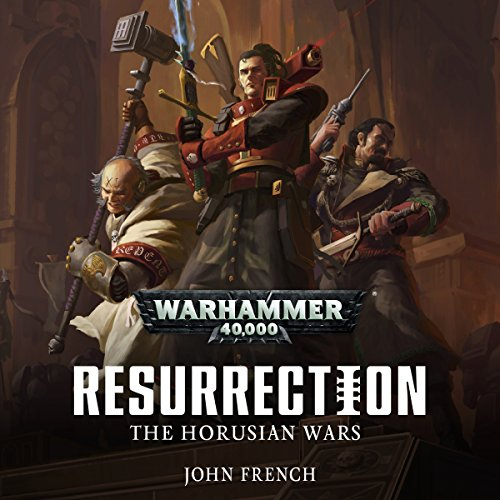 Horusian Wars: Resurrection audiobook cover art