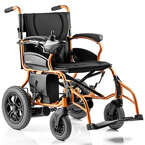 wheelchair Silla de Ruedas Ligera Silla de Ruedas eléctrica Plegable portátil Scooter para Ancianos Silla de Ruedas automática Inteligente Silla de Ruedas de Transporte