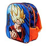 KARACTERMANIA Dragon Ball Supersayan - Mochila 3D (Pequeña) Multicolor