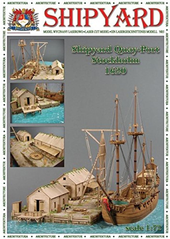 Shipyard Kai - Hafen - Stockholm 1620 Maßstab1 72 B01N52A620 Niedrige Kosten    Optimaler Preis