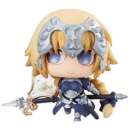Fate Grand Order Petit Chara! Chimi Ruler Jeanne d'Arc Character Mini Figure Vol.2 Swirly Eye Ver. Collection Anime Art