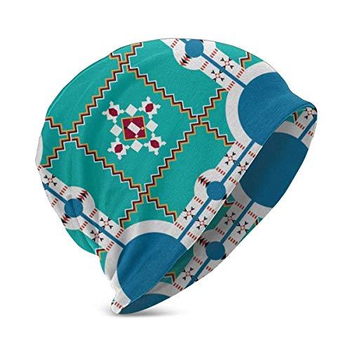 Wfispiy Lakota-Muster-Baby Mütze Hut Niedlich Gemütliche Wintermütze Kleinkind Kleinkind Baby Mützen für Jungen Mädchen