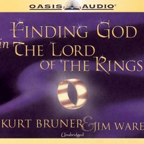 Finding God in The Lord of the Rings audiobook cover art