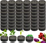 LeonBach 50 Pack 1.9' Cloning Collars Inserts, Clone Collars DIY Cloner Insert Auto Cloner for 2' Garden Slotted Mesh Net Cups, Hydroponic Net Pots