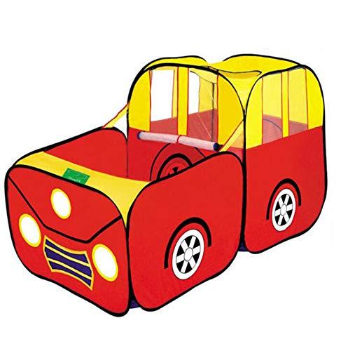 La Tienda del Juego Emergente De Los Niños Plegables, Piso De Diseño Impreso Único para Garaje, Niños Juguete Tienda/Teatro/Den, Apto para Bebés Y Niños Pequeños Interiores Y Exteriores