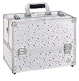 Chtom Caja de almacenamiento caja de maquillaje caja de vanidad...