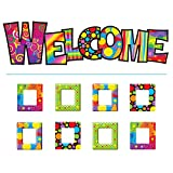 Tendencia Empresas Razzle-dazzle bienvenida Bulletin Board Set (t-8247)