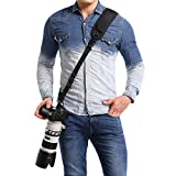waka Rapid Camera Neck Strap with Quick Release and Safety Tether, Adjustable Camera Shoulder Sling Strap for Nikon...