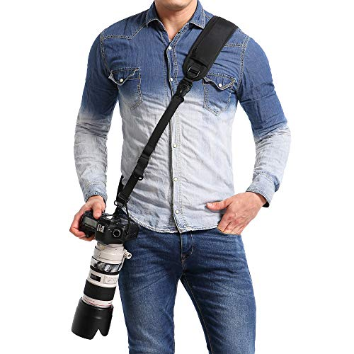 waka Rapid Camera Neck Strap with Q…