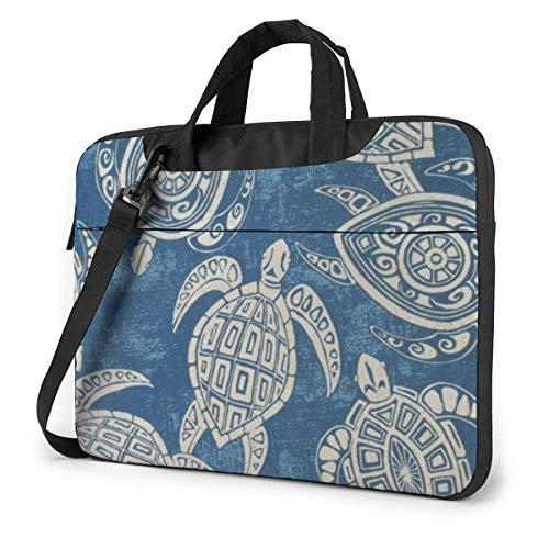 Sea Turtles Laptop Sleeve Case Computer Tote Bag Shoulder Messenger Briefcase for Business Travel