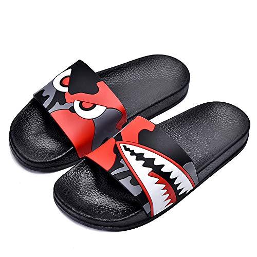 SITAILE Womens Slide Sandals Slip on Cute Outdoor Indoor Athletic Sport  Slides Lucky Cat Slippers Black Size 7.5- Buy Online in El Salvador at  elsalvador.desertcart.com. ProductId : 64553990.