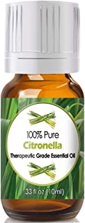 Citronella Essential Oil for Diffuser & Reed Diffusers (100% Pure Essential Oil) 10ml