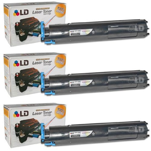 LD Compatible Toner Cartridge Replacement for Canon GPR22 0386B003AA (Black, 3-Pack)