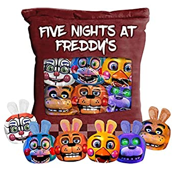 Five Nights at Freddy s Plush Pillow Toy Cute Throw Pillow Stuffed Toys Five Night Games Toys Snack Pillow Toy Teddy Bear Pizza Dolls 15.811 inch  Type-A