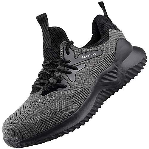 UCAYALI Zapatos de Seguridad Hombre Trabajo Ligeros...