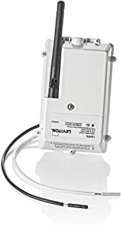 Leviton LDATA Smart Breaker Data Hub-Connect Wirelessly or with Ethernet, White