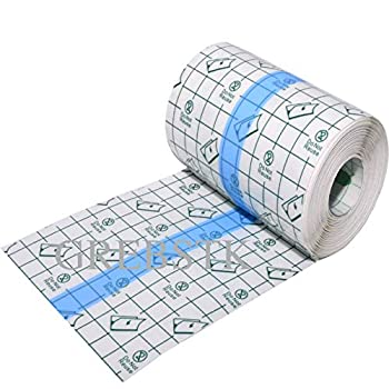 Adhesive Bandages Transparent Stretch Tape Retention Dressing Tapes  10cm x 500cm/ 4in x 200in