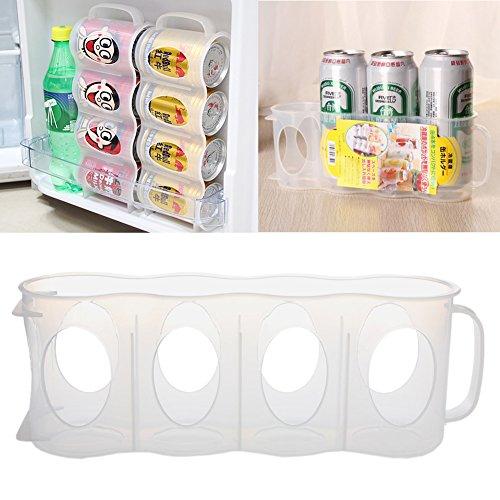 Misright - Soporte de almacenamiento para frigorífico o congelador, para cerveza o congelador, para cocina, frigorífico, despensa, ahorro de espacio, organizador
