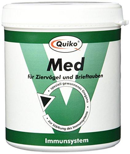 Quiko Med - speciaal gewonnen oregano voor siervogels en brievenduiven ter versterking van het immuunsysteem, blik, per stuk verpakt (1 x 250 g)