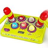 BAODLON Interactive Pound a Mole Game, Toddler Toys, Light-Up Musical Pounding...