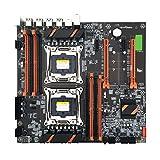 Jilin X99 Dual Server Computer Motherboard LGA2011-3 CPU DDR4 Memory Game Mainboard Module for in-tel