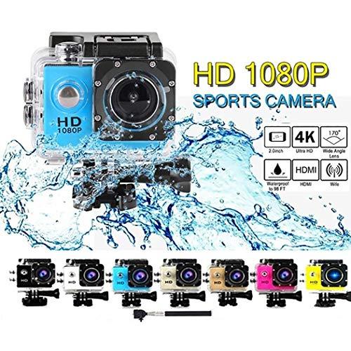 Dinger HD 1080P Deportes al Aire Libre Cámara DV Cámara Impermeable Cámaras Digitales