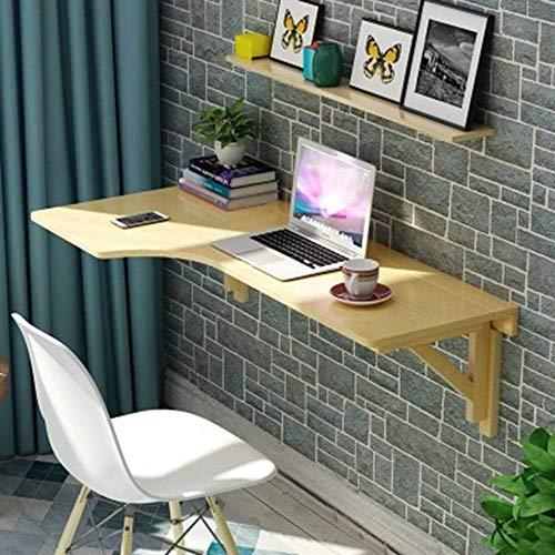 MWPO Massivholz Wandmontage Klapptisch, Klappküche & Esstisch Schreibtisch Eckbar Tisch